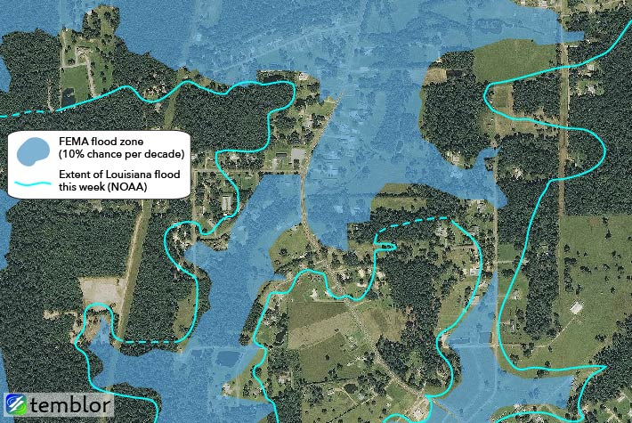 flood zone map louisiana Flood Zone Maps Louisiana Deluge Had Less Than 1 Chance Of flood zone map louisiana