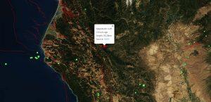 M4.5 - 23km WSW of Hayfork, California