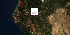 M4.5 - 23km WSW of Hayfork, California