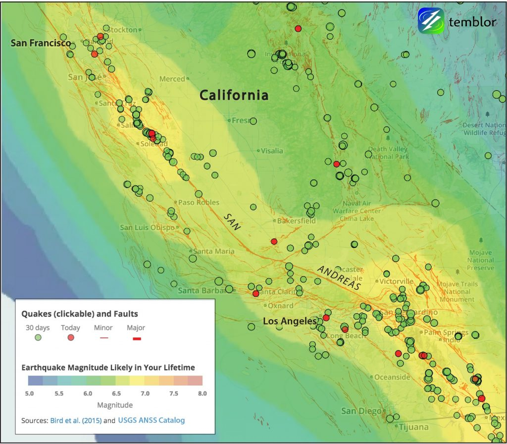 California_earthquake_Forecast_map