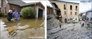 Louisiana_floods_Italy_earthquake