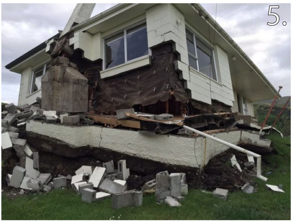 New zealand earthquake damage map images reveal massive for Where to go in an earthquake