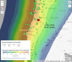 Santiago-Chile-earthquake-map.