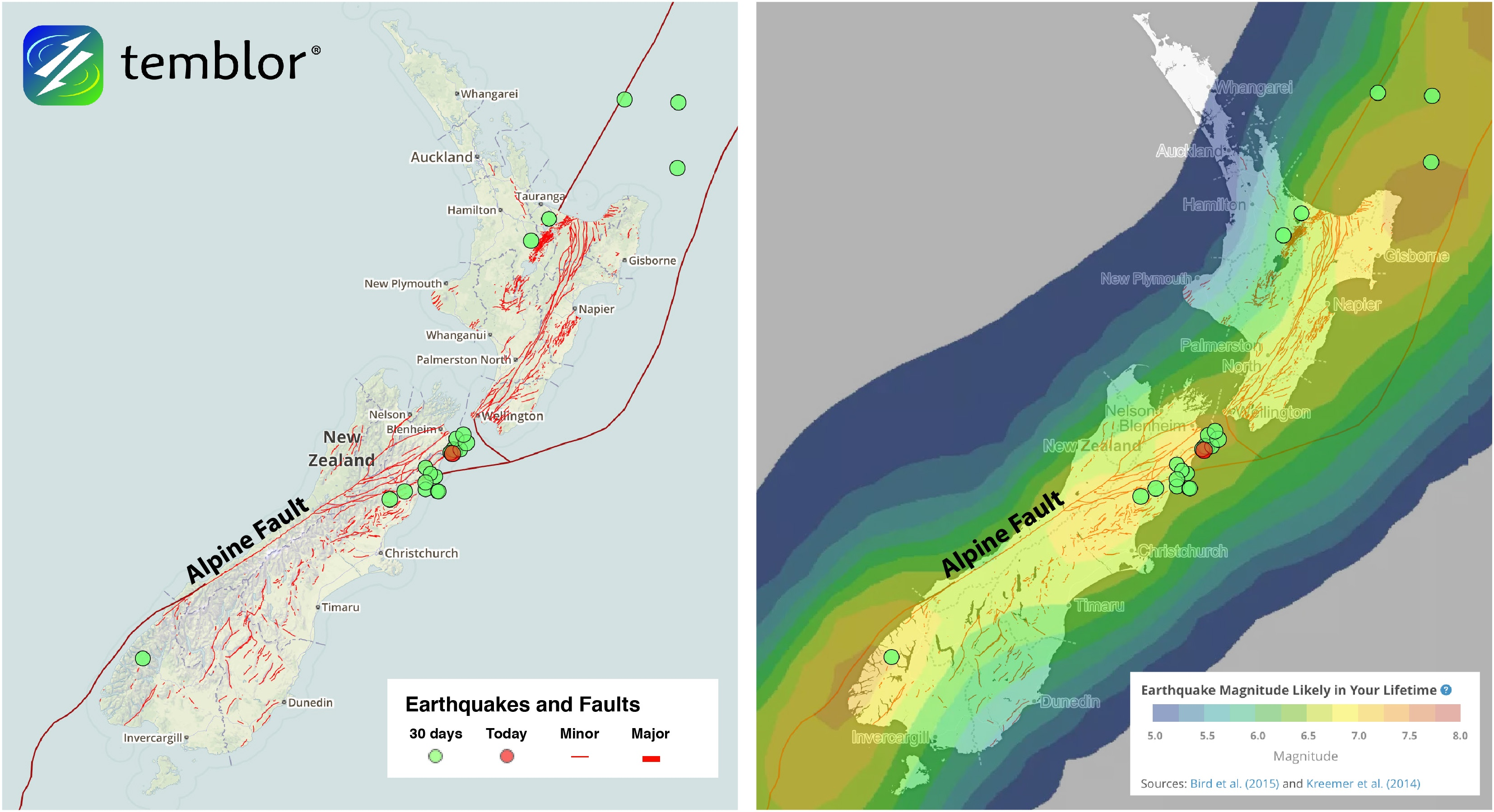 Alpine-Fault-Map
