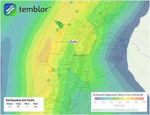 Ecuador-Fault-Map