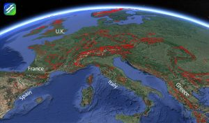 Europe-Fault-Map