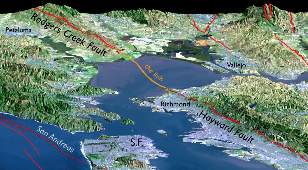 The Rodgers Creek And Hayward Faults Are Revealed To Be One Fault - Hayward fault line map