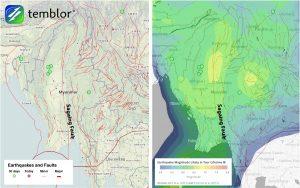 Sagaing-Fault-Map