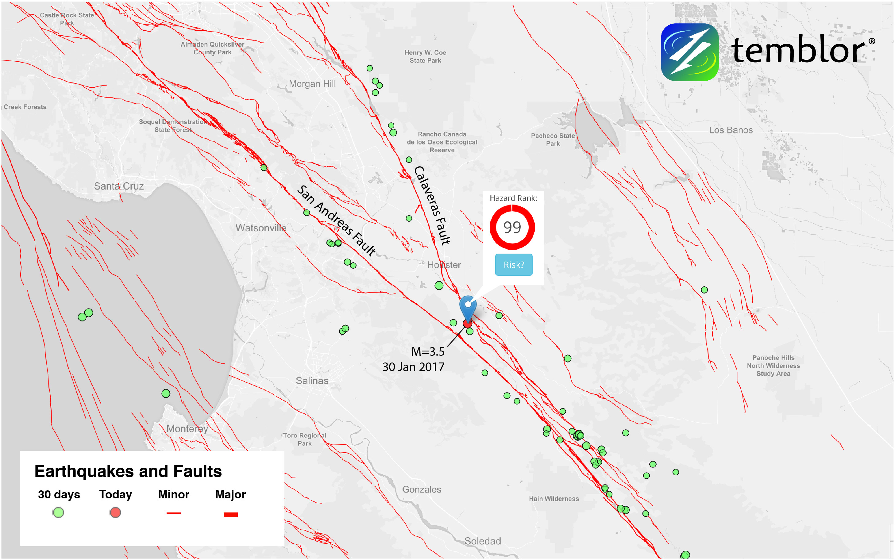 Sanandreasfaultmapcalaverasfaultmapcaliforniaearthquake - Andreas fault map