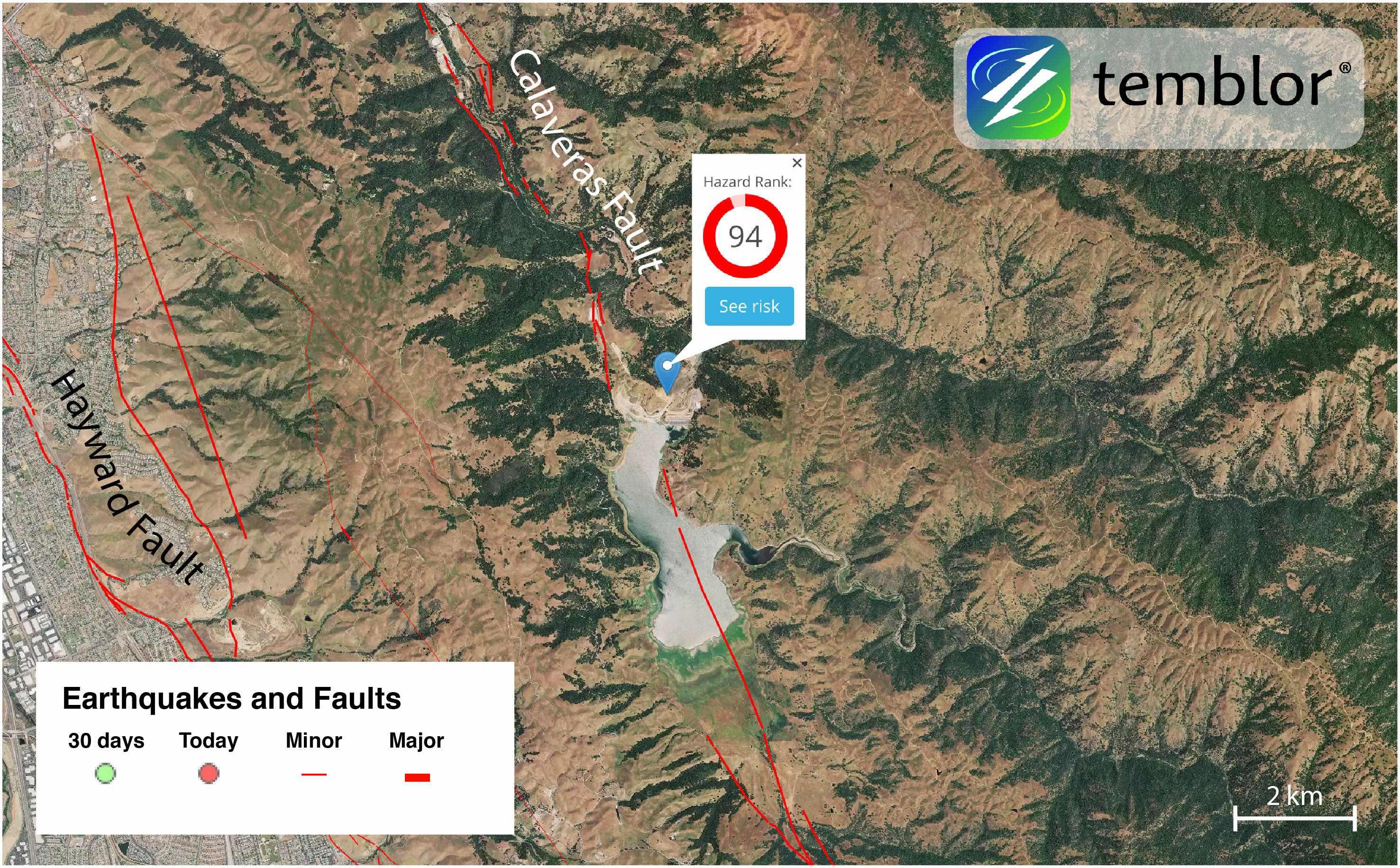 Calaveras-Dam-Map