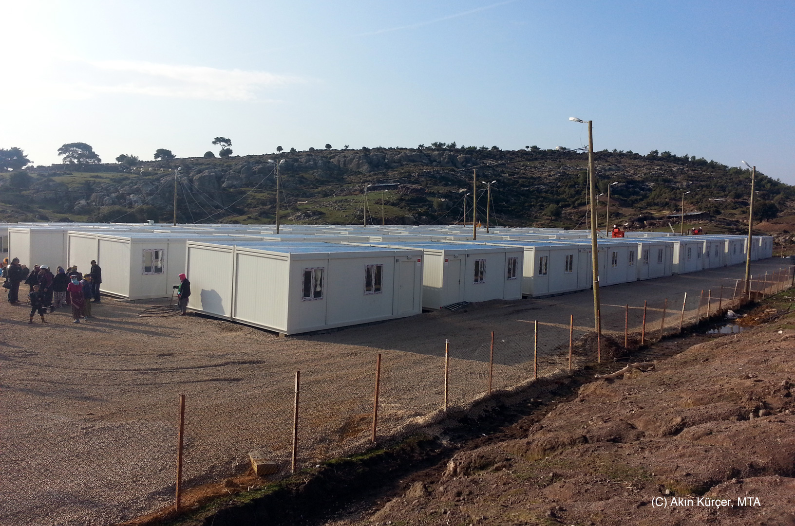 AFAD (Disaster and Emergency Management of Turkey), did an amazing job responding to residents of more than 500 damaged houses, and immediately built container housing.