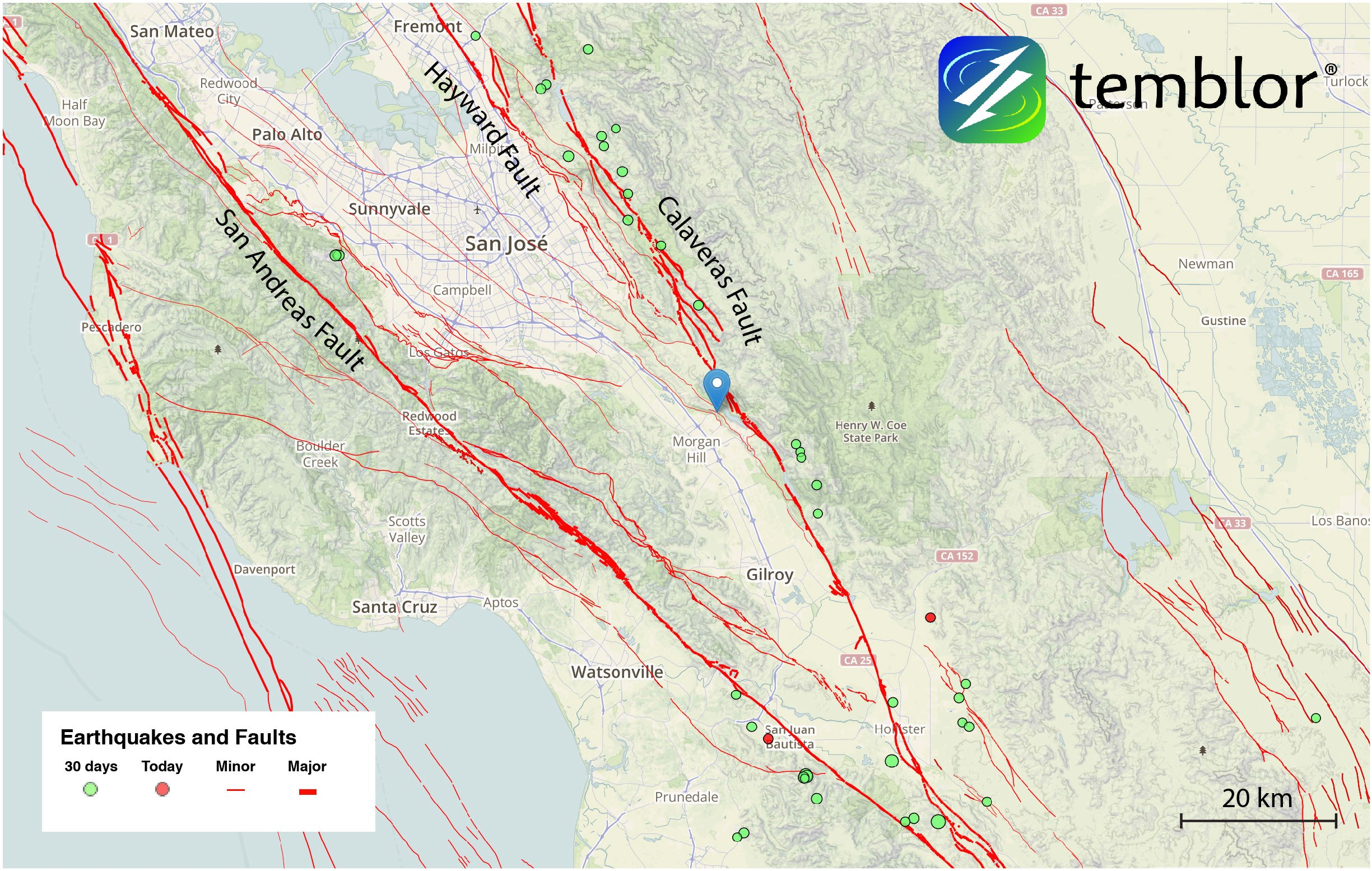 South-Bay-Fault-map