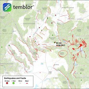 Yellowstone earthquakes