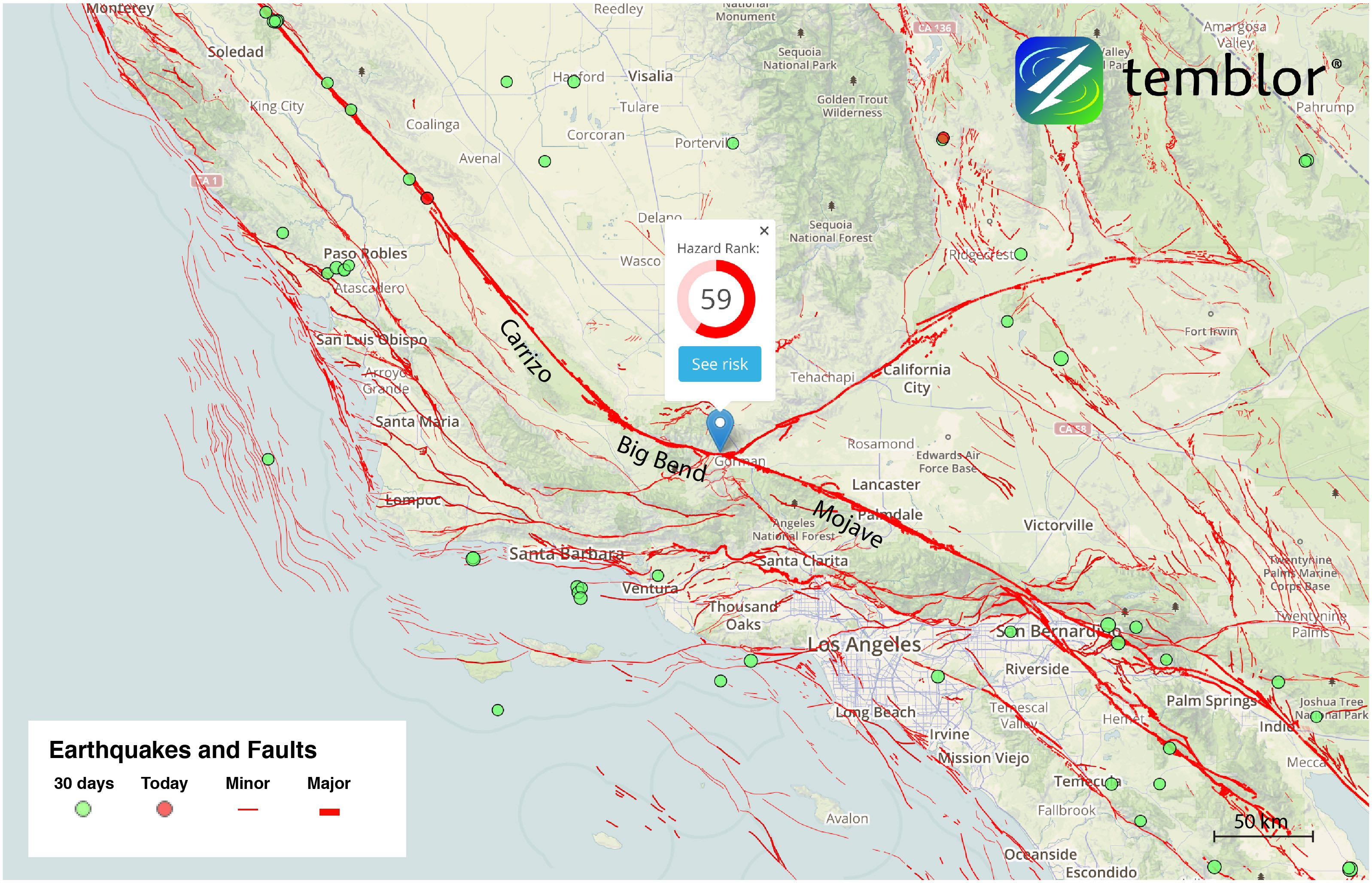 USGS study finds new evidence of San Andreas Fault ...