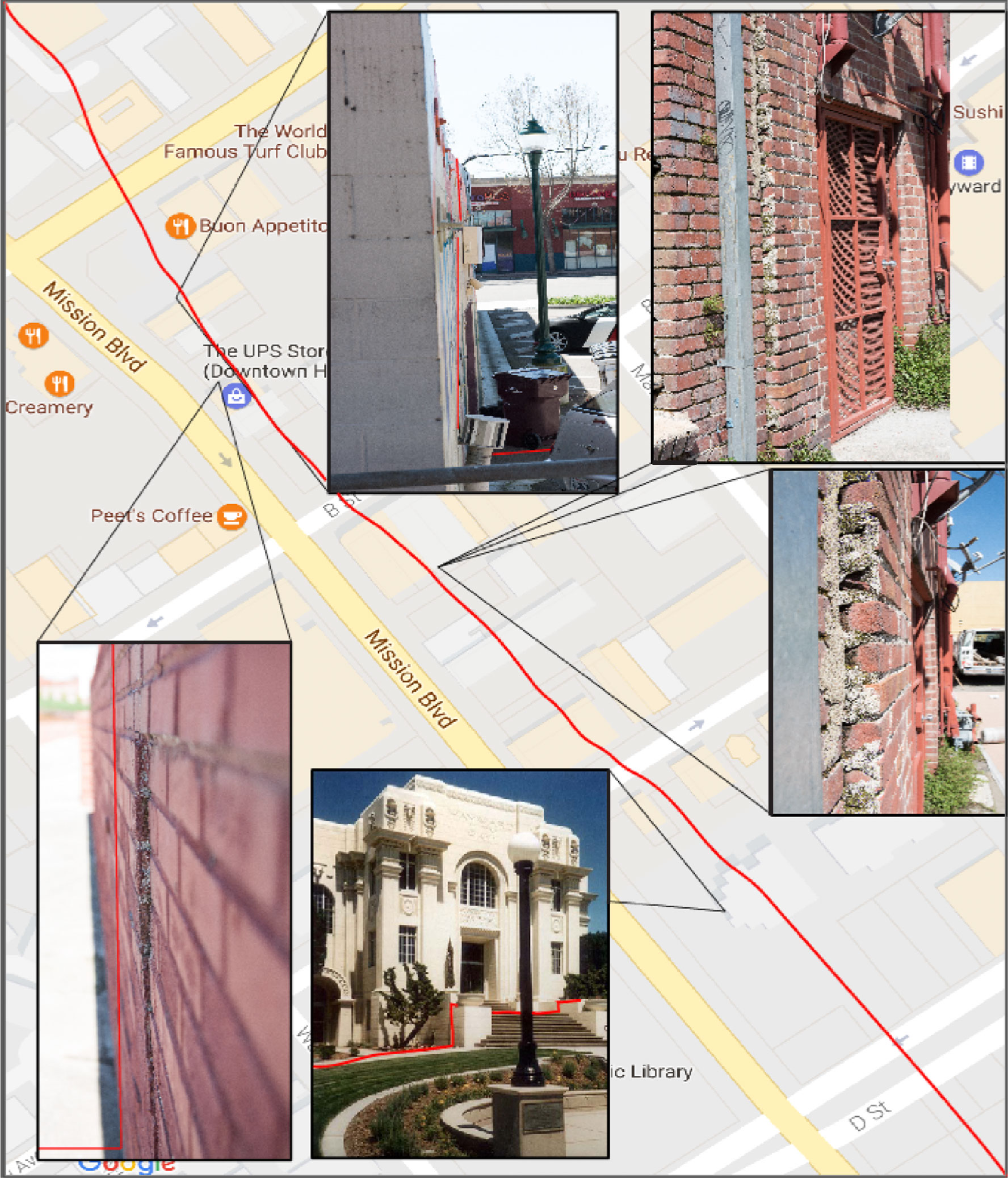 hayward-fault-map-pictures