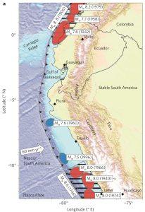 South-america-earthquake-map