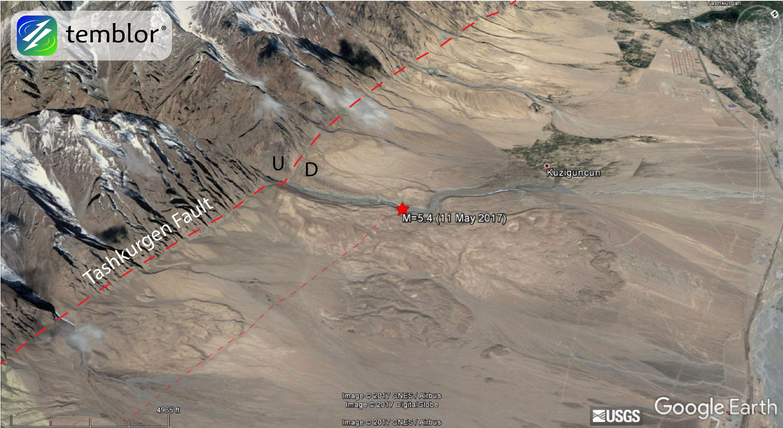 china-earthquake-map
