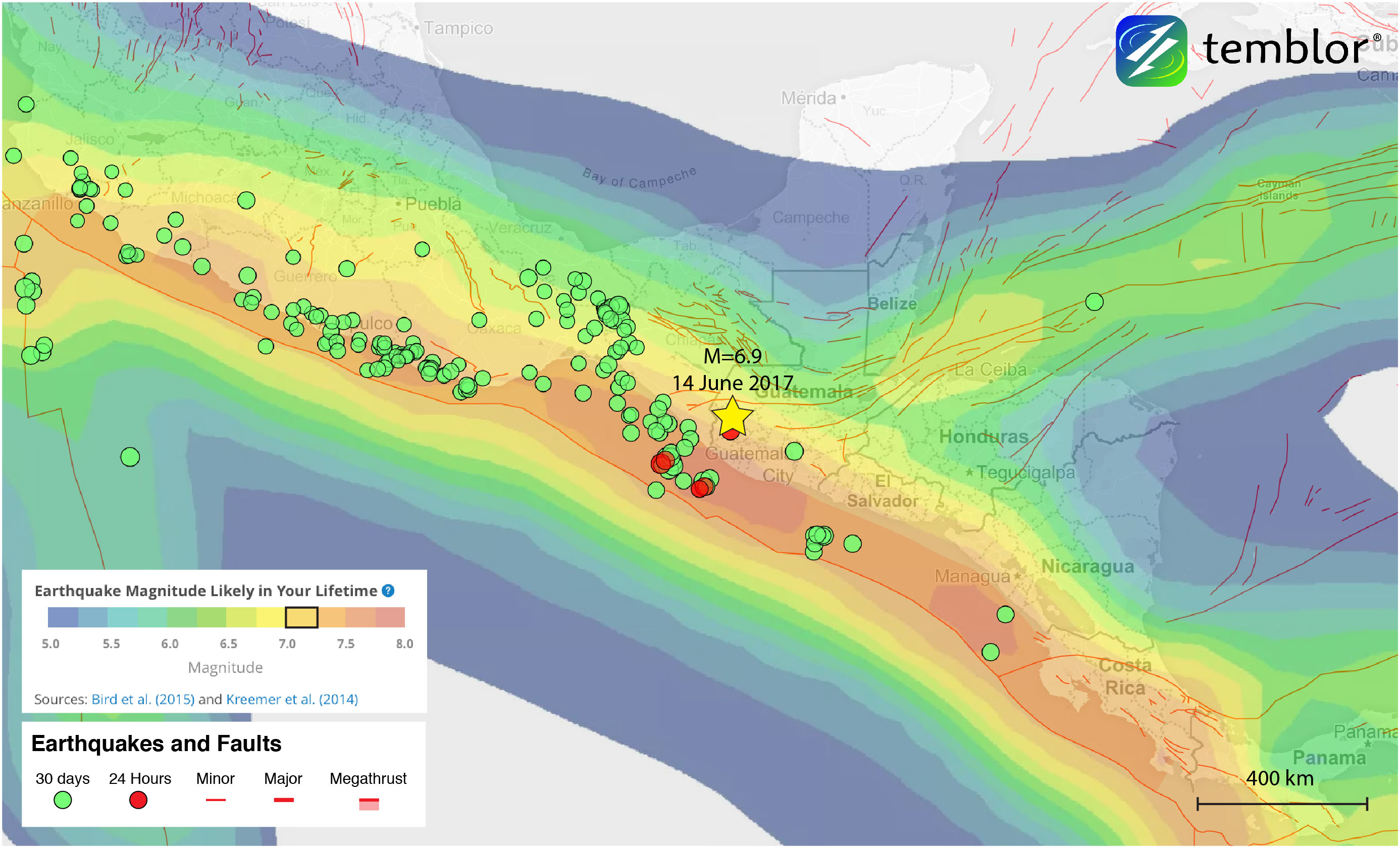 Central-america-earthquake-forecast
