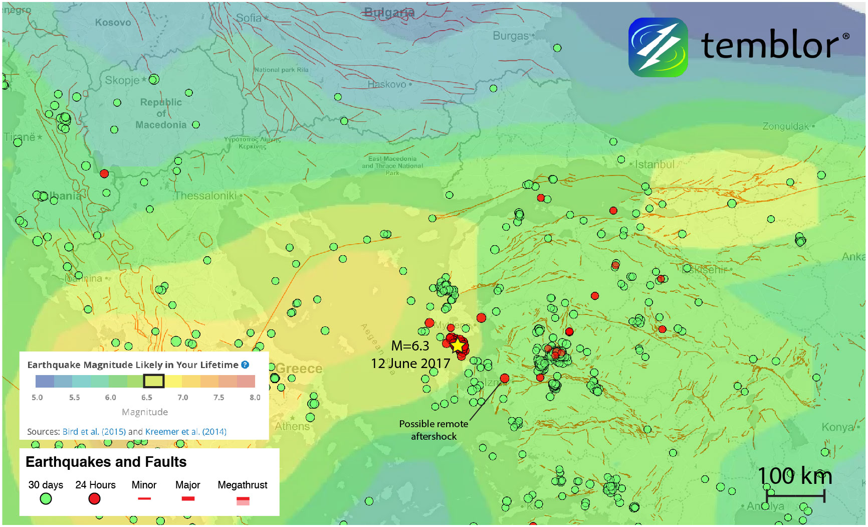 Earthquake-forecast-aegean-sea-greece-turkey-map