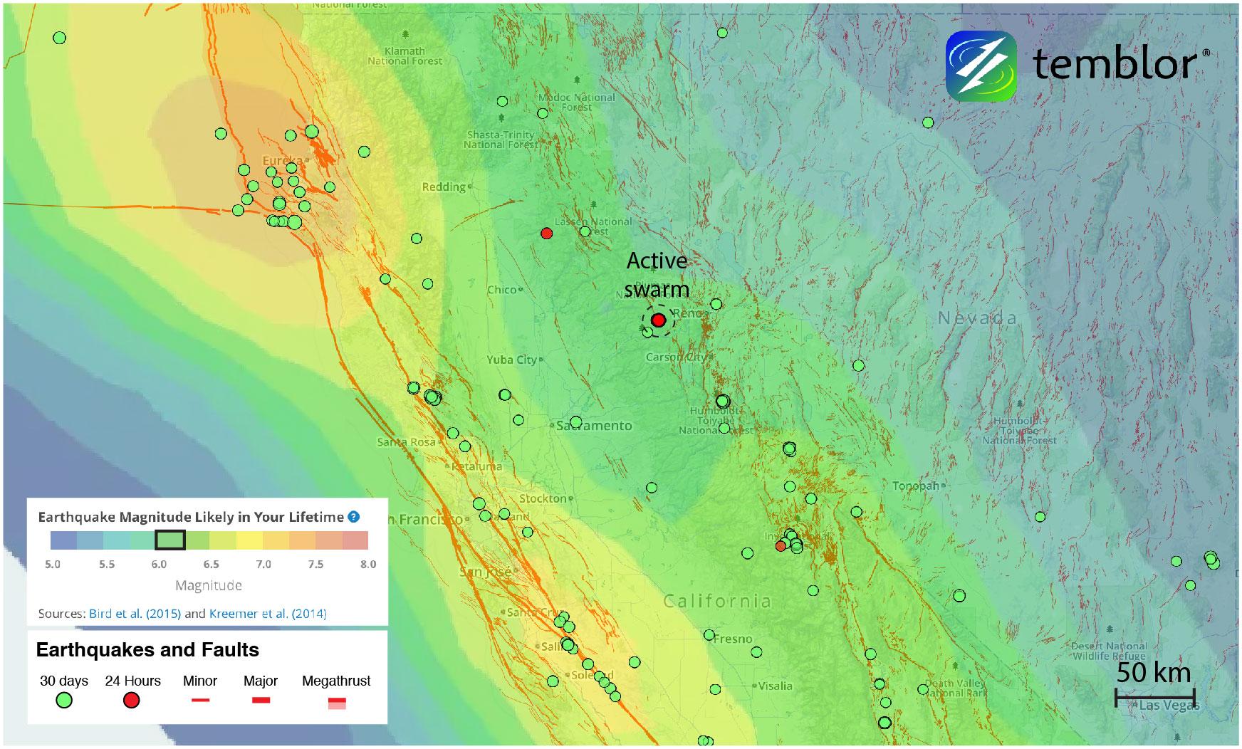 california-earthquake-swarm-earthquake-forecast-map