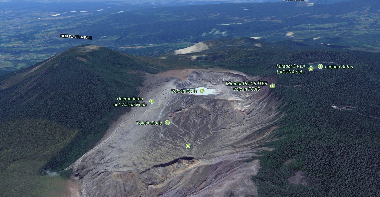 google-earth-poas-volcano