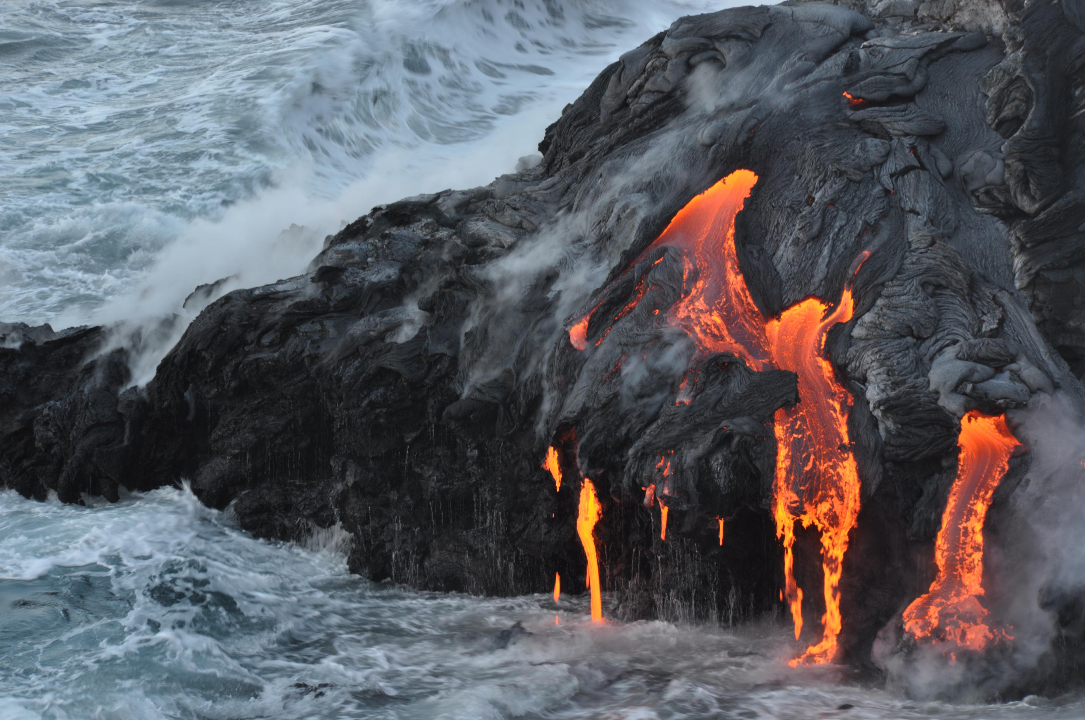 Resident felt 1 jolt from Hawaii natural disaster