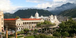 Quetzaltenango, Guatemala is located approximately 50 km southeast of the epicenter of yesterday's M=6.9 earthquake which caused damage and killed two people.