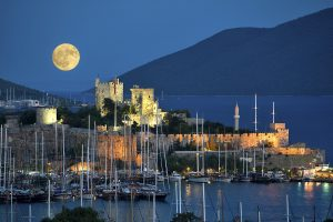 Bodrum Castle (source: http://www.diveacademybodrum.com/)
