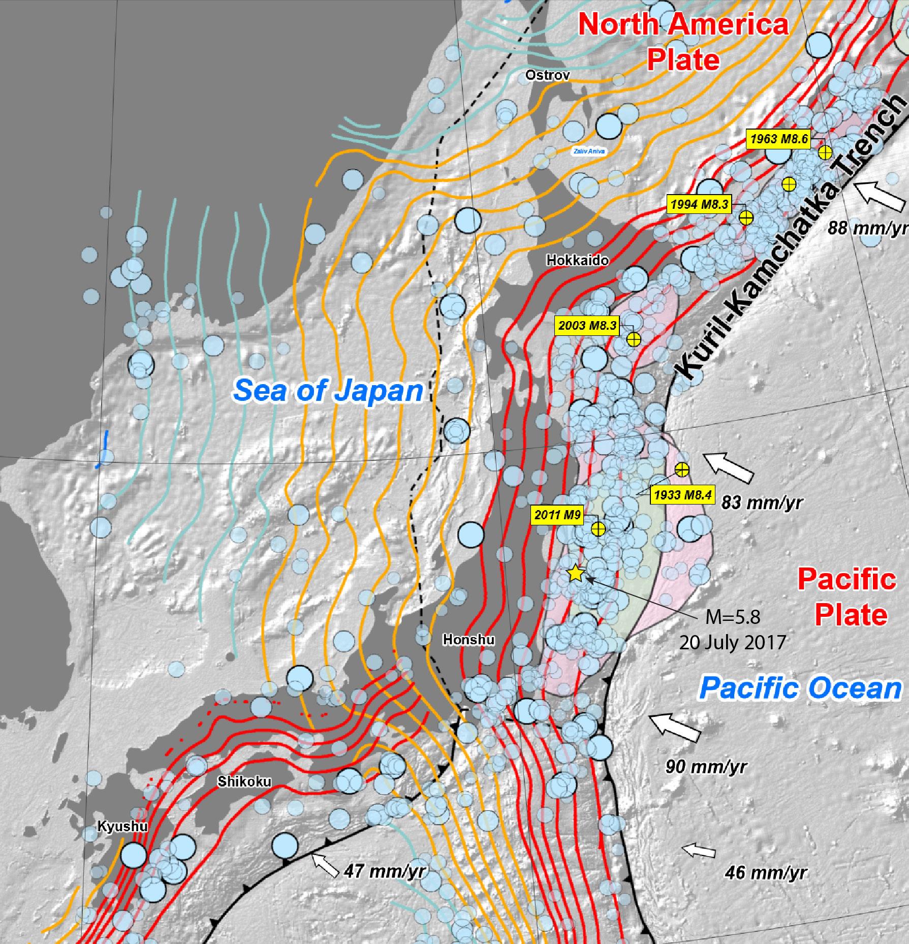 Usgs japan fault map earthquake map temblor usgs japan fault map earthquake map gumiabroncs Images