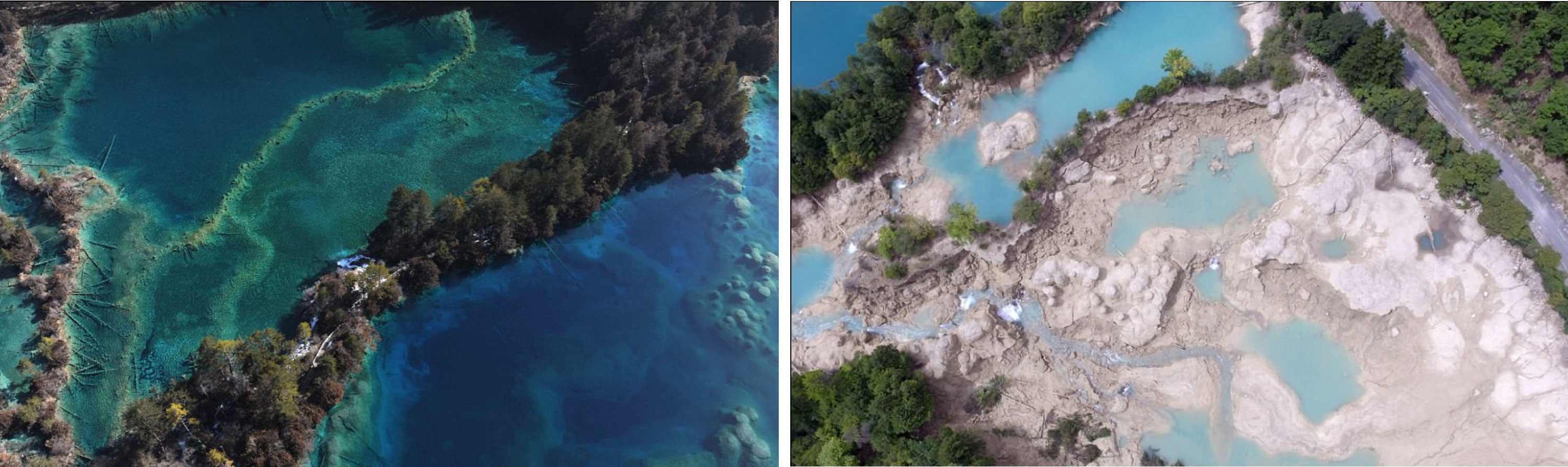 Jiuzhai-National-Park-damage