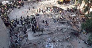 Hasta ahora, hay cerca de 300 muertes confirmadas, a partir del terremoto de M=7.1 del martes, al sur de la Ciudad de México. (Foto de: CNBC).