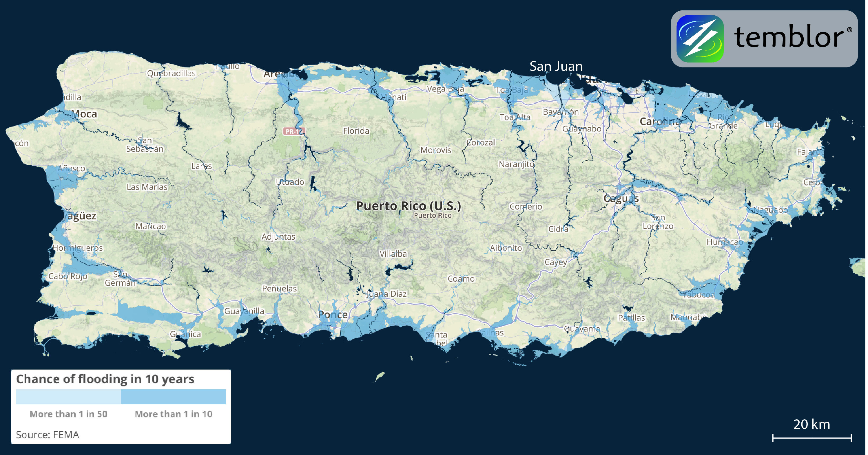 Puerto-Rico-Flood-Map