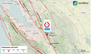 San-jose-earthquake-anderson-dam-map