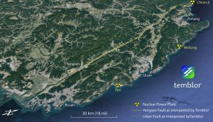 Our interpretation of the Yangsan and Ulsan Faults.