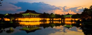 Gyeongju, near the 2016 epicenter. Gyeongju was the capital of the ancient kingdom of Silla (57 BC – 935 AD). which ruled about two-thirds of the Korean Peninsula between the 7th and 9th centuries.