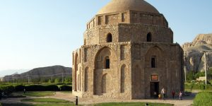 The Japaliyeh Dome in Kerman, Iran was shaken by today's M=6.0 earthquake. (Photo from: Wikipedia)