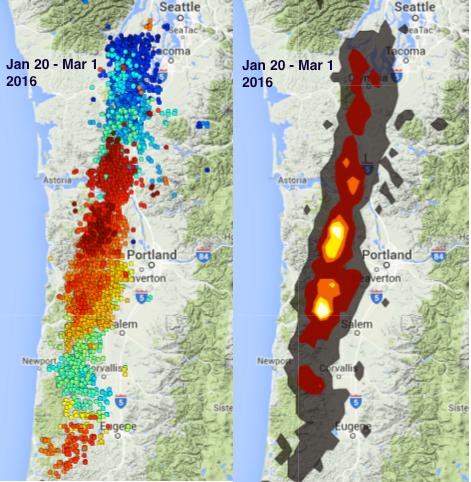 Oregon-tremor