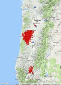 PNW-tremor