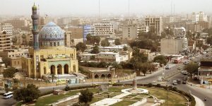 The city of Baghdad felt shaking from today's series of earthquakes along the Iran-Iraq border.