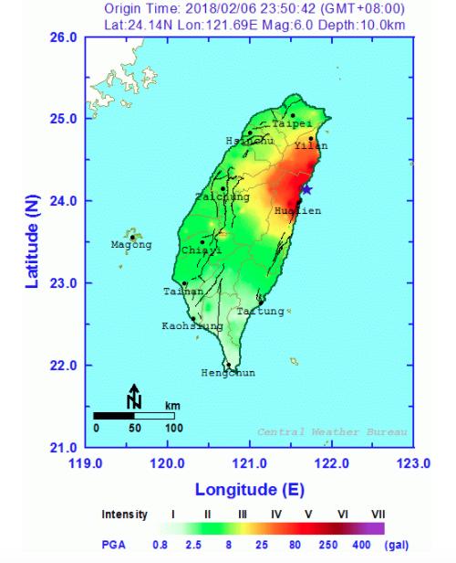 taiwan-shakemap
