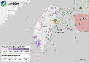 Taiwan-fault-map