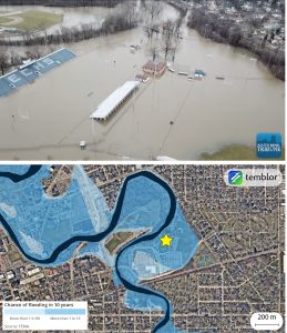 elkhart-central-high-school-flooding