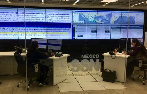 The Servicio Seismologico Nacional at UNAM monitors all seismic activity across Mexico.