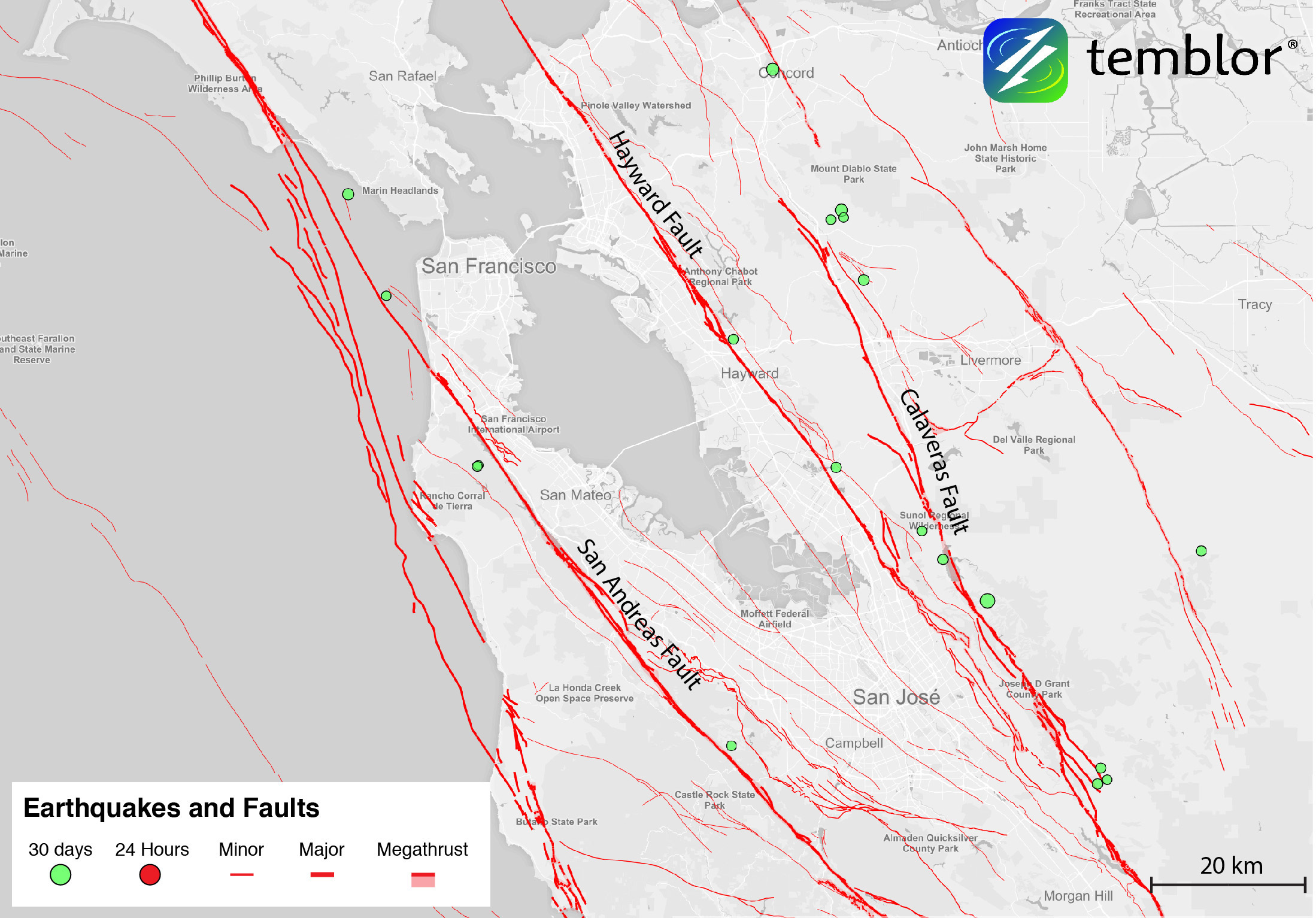 Bay Area Earthquake Fault Map – An earthquake is a process of the earth's surface fluctuations.