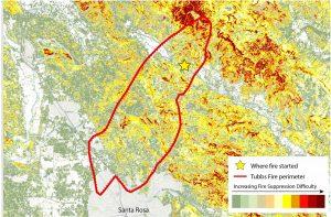 Santa-Rosa-Fire-Suppression-Difficulty-Map