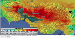 hayward fault earthquake shaking