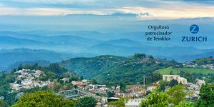 La ciudad colombiana de Manizales, en las profundidad de los Andes, experimentó una sacudida durante el sismo de hoy, con magnitud M=5.2