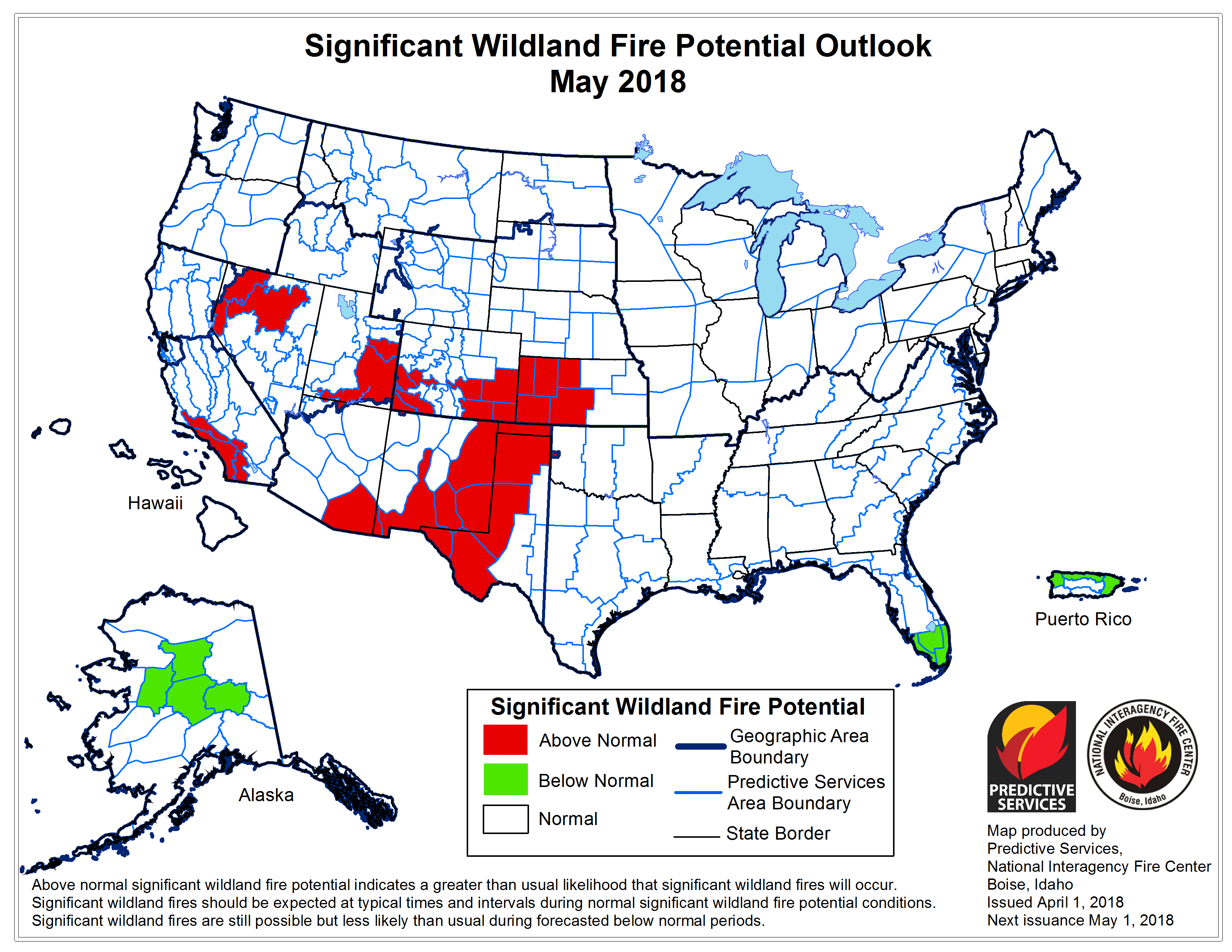 Wildland Fire Potential