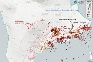 Temblor haritasında kırıkları (fayları) ve depremleri görebilirsiniz.