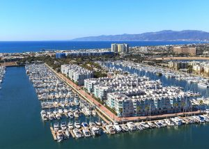 By contrast, today over 5,000 boats call Marina del Rey home, and luxury condos and apartments cover the area.